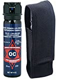 Pepper Enforcement 4 oz. Fogger 10% OC Police Strength Pepper Spray and Tactical Metal Clip Holster – Professional Grade Emergency Self Defense Non Lethal Weapon for Personal Protection Review
