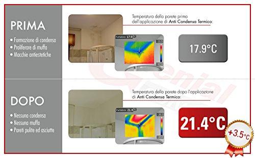 Pittura termica antimuffa - ANTI CONDENSA TERMICO 0,75L ...
