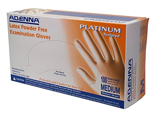 Adenna Platinum Powder Gloves Medium