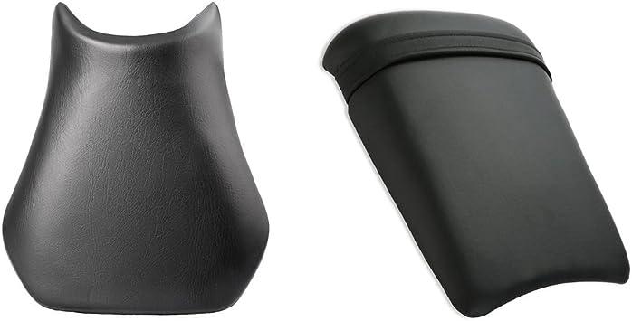 color negro Soporte para reposapi/és delantero para YZF R6 2003-2005 Areyourshop