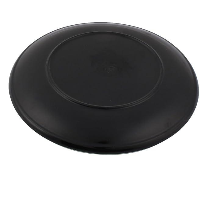 Amazon.com: DealMux melamina Início Rodada louça Cozinhar Ferramenta prato de comida placa Bandeja de Serviço 22,5 centímetros x 2cm Verde: Kitchen & Dining