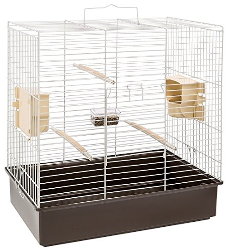 Ferplast New Generation Cage with Grey Bars with Accessories