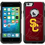 Usc - Watermark 1 design on Black OtterBox Commuter Series Case for iPhone 6 Plus and iPhone 6s Plus