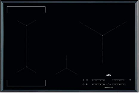 Opinión sobre AEG IKE84445FB hobs Negro Integrado Con - Placa (Negro, Integrado, Con placa de inducción, 2500 W, 14,5 cm, 3200 W)