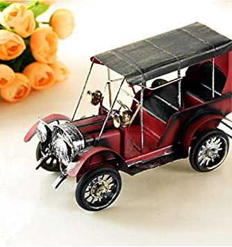Amazon.com: ZAMTAC - Figura decorativa retro de coche para ...