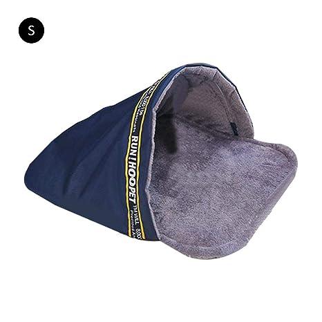 farmer-W Cálido Suave Cama para Mascotas Saco de Dormir para Mascotas Mascota Felpa Nido