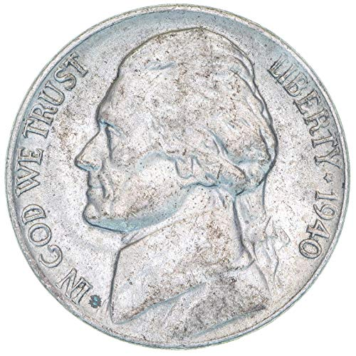 (1940 Jefferson Nickel About)