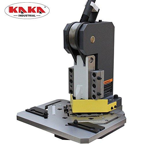 KAKA Industrial HN-1104 Heavy-Duty Metal Corner Notcher, 4x4