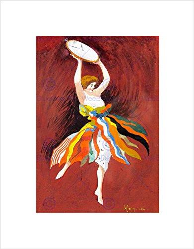 vintage-lady-flag-skirt-cyma-tavannes-watch-painting-framed-art-print-b12x11479