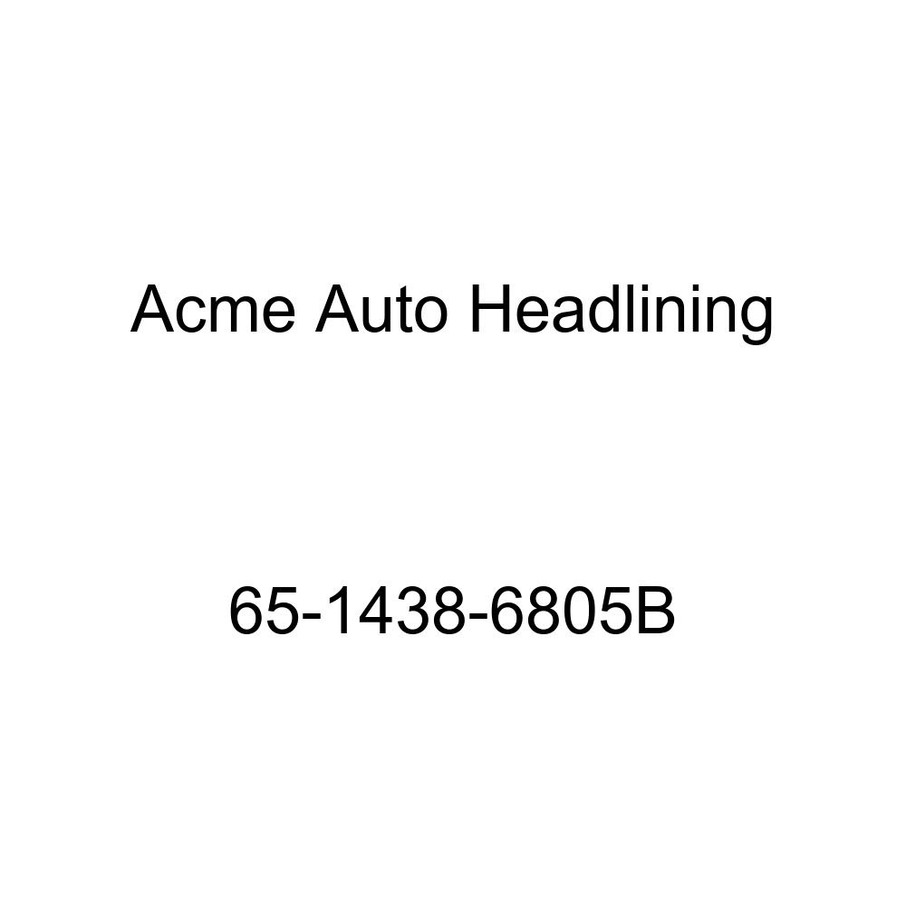 Chevrolet Chevy II 4 Door Wagon 8 Bow Acme Auto Headlining 65-1438-6805B Medium Blue Replacement Headliner