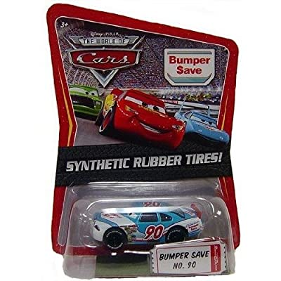 Disney / Pixar CARS Movie Exclusive 1:55 Die Cast Car with Sythentic Rubber Tires Bumper Save: Toys & Games