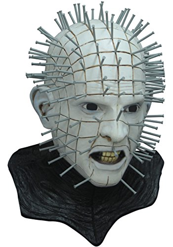 Ghoulish Productions Men's Monster Horror Hellraiser III Pinhead Mask Halloween Costume Accessory for $<!--$56.24-->