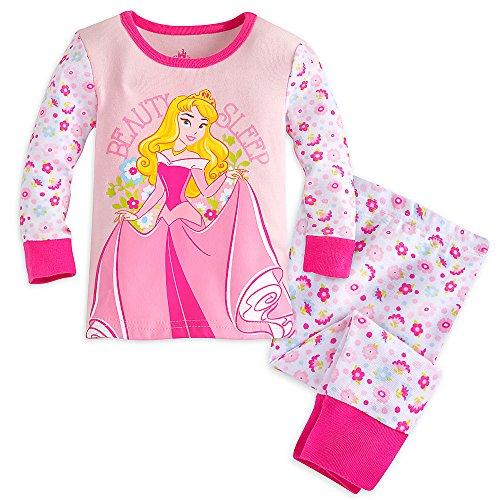 Disney Baby Aurora PJ PALS Pajamas 9-12 MO