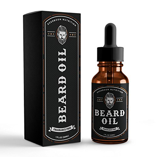 Price comparison product image Beard Oil Unscented Conditioner - 100% Naturally Derived Signature Formula, Mixed with 9 Premium Quality Oils That Hydrates & Softens For A Kissable Beard, 1 Fluid Ounce of Bottled Manliness