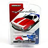 javelin 1 - 1971 AMC JAVELIN AMX (Red, White & Blue) 1:64 Scale 2015 Greenlight Collectibles Limited Edition Hobby Exclusive Die-Cast Vehicle