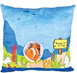 13'' CLOWNFISH DEN PILLOW