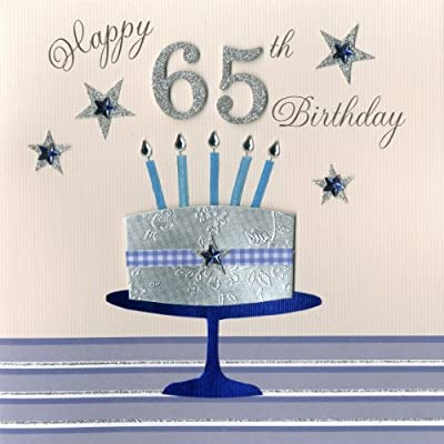 Cool Second Nature A 65Th Birthday With Cake And Candles Collectable Funny Birthday Cards Online Drosicarndamsfinfo