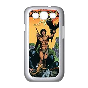 Tarzan 001 funda Samsung Galaxy S3 9300 Cubierta blanca del teléfono celular de la cubierta del caso funda EVAXLKNBC18593