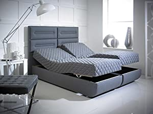 the ambassador electric adjustable bed frame and mattress latex double