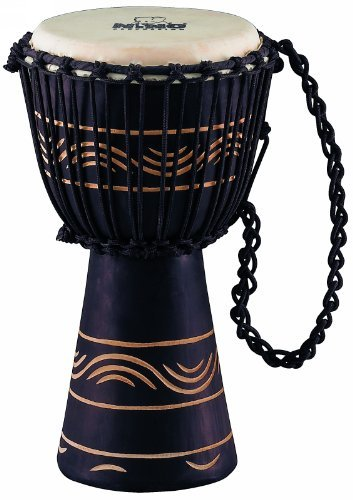 Nino Percussion NINO-ADJ4-S African Style ''Moon Rhythm Series'' Rope Tuned Djembe, Small