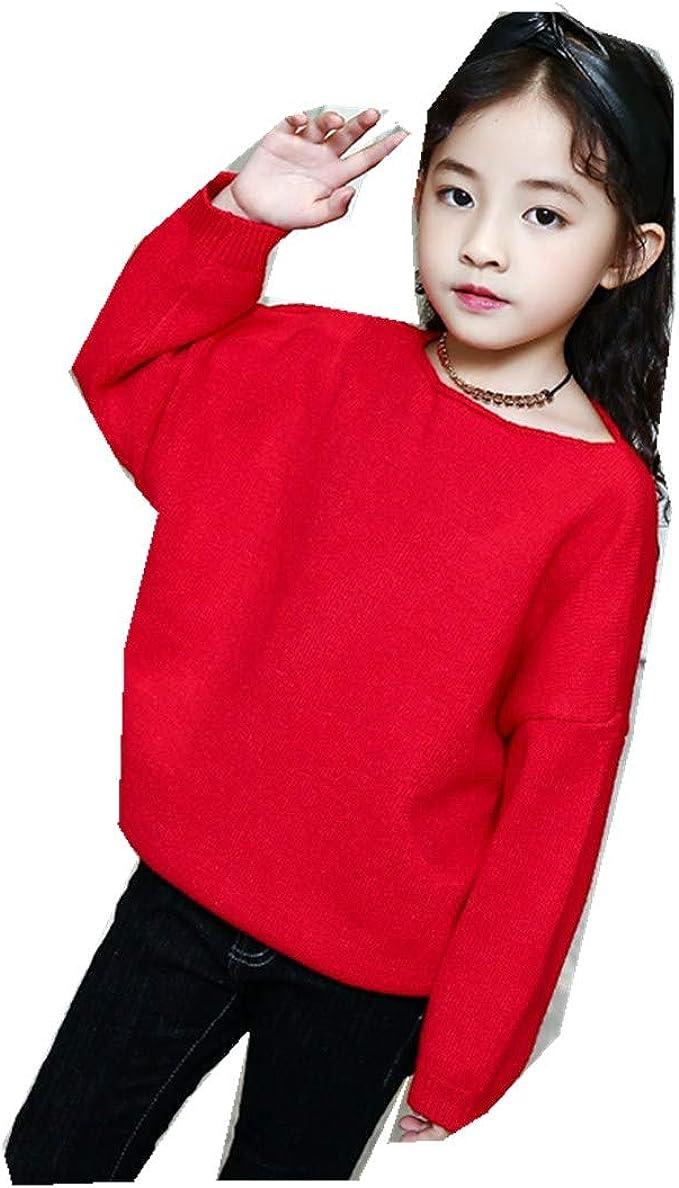 MV Autumn Girls Korean Long Sleeve Bat Sleeve A-Neck Loose Turtleneck Sweater