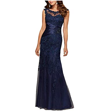 Mother of the Bride Dress Navy Blue