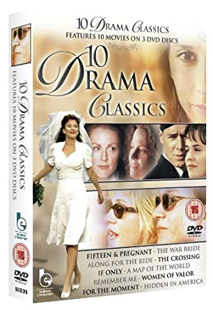 Amazon Com 10 Drama Classics Remember Me Women Of Valor For The Moment Fifteen Pregnant The War Bride The Crossing Along For The Ride Hidden In America Map Of The World If