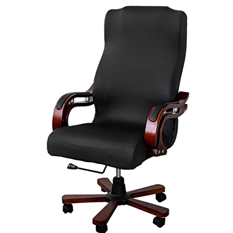 Merveilleux BTSKY Back Office Chair Covers Stretchy For Computer Chair/Desk Chair/Boss  Chair/
