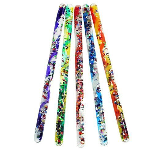 Toysmith Jumbo Spiral Glitter Wand (Assorted Colors)