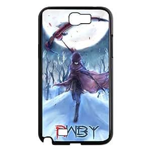 Ruby Rose Rwby Anime Samsung Galaxy N2 7100 Cell Phone Case Black DIY Ornaments xxy002-3722251