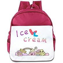 Mostafa Ice Cream Cartoon Custom Children Kids Girls Boys Baby School Bags Book Bags Backpack