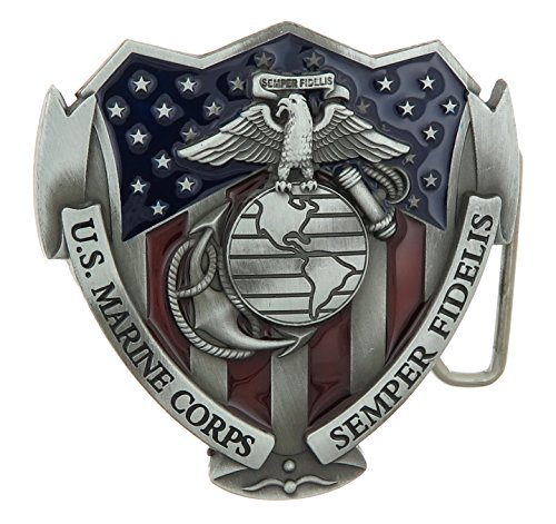 (U.S. Marines Corps USMC Semper Fi Military Color Belt)