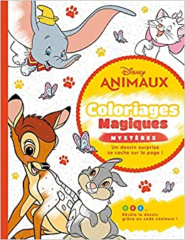 Disney Animaux Coloriages Magiques Mysteres Mysteres Animaux French Edition 9782017088899 Amazon Com Books