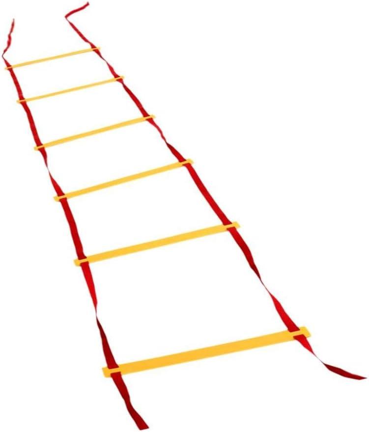 DIAMWAN Escalera de Agilidad 3 Metros 10 Filas Agilidad Escalera Velocidad Escalera niños Adultos fútbol Velocidad Entrenamiento ayudas: Amazon.es: Deportes y aire libre