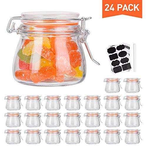 Small Glass Jars Airtight