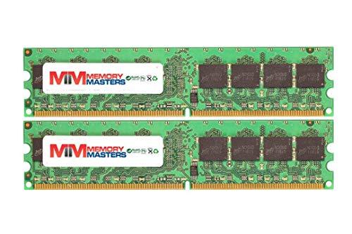 MemoryMasters 2GB Kit 2 X 1GB DDR2 Memory for Dell Dimension E310 E310n E510 E510n Desktop PC2-4200 240 pin 533MHz DIMM RAM (MemoryMasters)