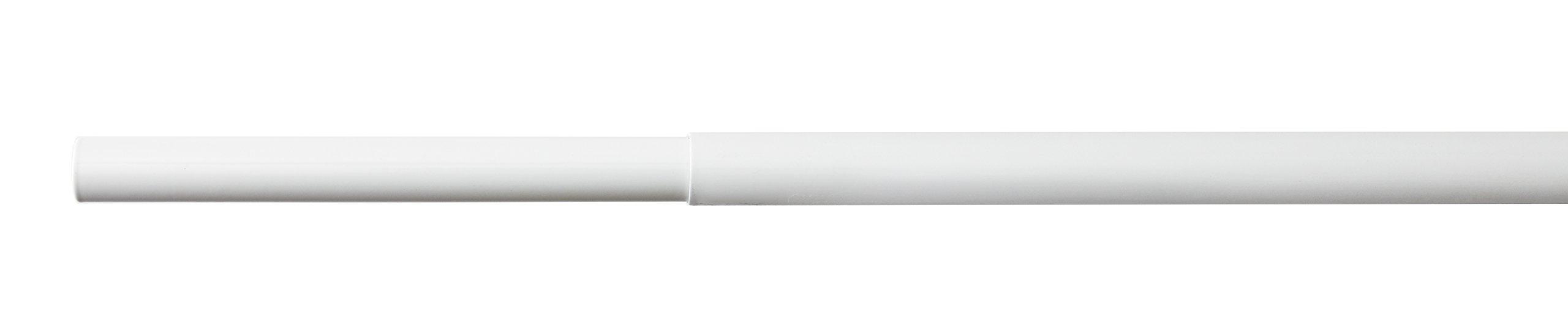 ClosetMaid 2051 SuperSlide Adjustable Hanging Closet Rod, 4' to 6', White by ClosetMaid