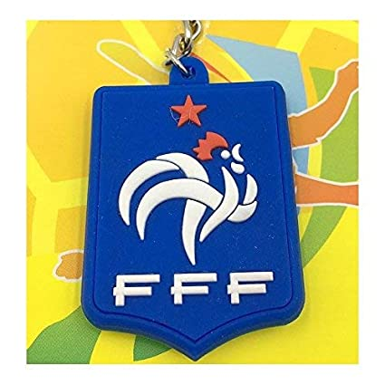 FERZA Home Llavero Equipo del Equipo de Francia Logo Adornos ...