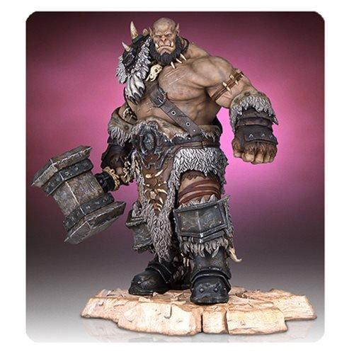 Gentle Giant Orgrim Warcraft Collectible Statue ()