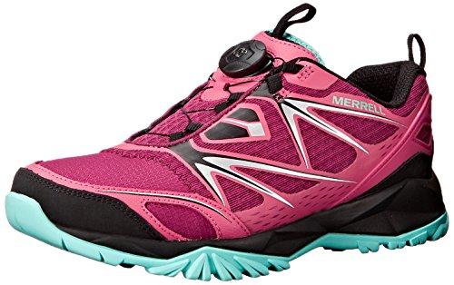 Bright Perno Red excursión Boa Capra zapato el Merrell xY57qP0w5