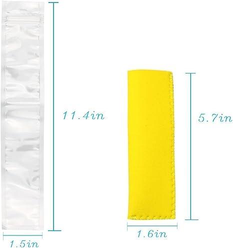 ISuper 150 - Lote de bolsas desechables para polos de hielo (150 ...
