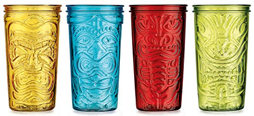 Home Essentials 4-pc. Tiki Cooler Glass Set One Size