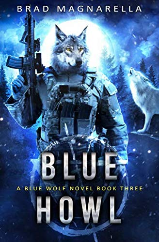 Blue Howl (Blue Wolf)