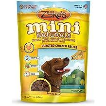 Zuke's Pet Nutrition Mini Naturals Dog Treats, Roasted Chicken Recipe, 16-Ounce