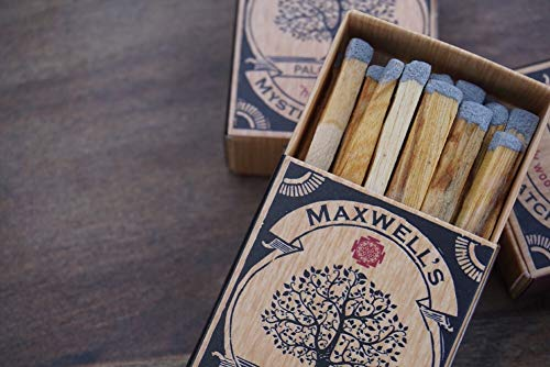 3 Pack Palo Santo Incense Matches by Maxwell's Mystic Matches (Image #3)