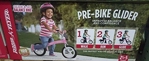 Radio Flyer Glide & Go Balance Bike (Classic Pink)