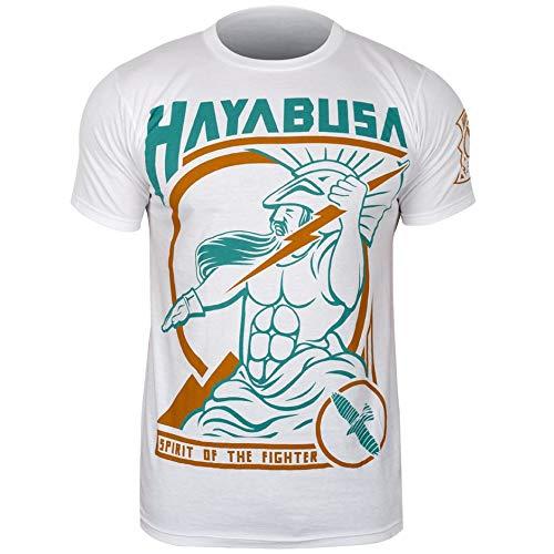 Hayabusa Mens Olympus T-Shirt - White - XL (Hayabusa T Shirt)