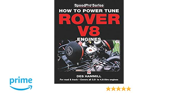 ROVER V8 ENGINES BOOK HOW TO POWER TUNE MANUAL HAMMILL LAND ROAD TRACK