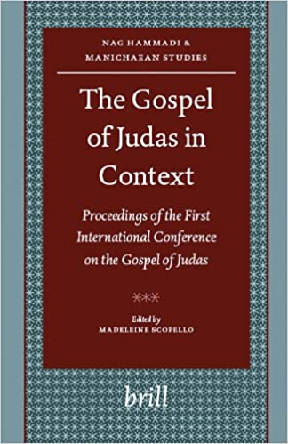 The gospel of judas, critical edition: together with the letter of.