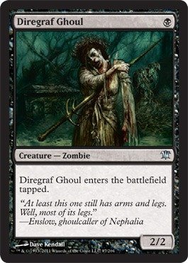 Magic: the Gathering - Diregraf Ghoul - Innistrad ()